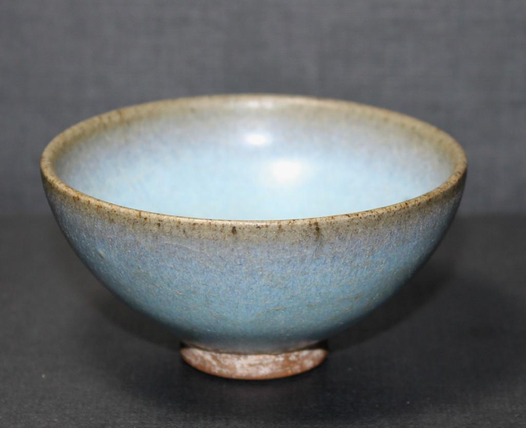 Light blue pottery